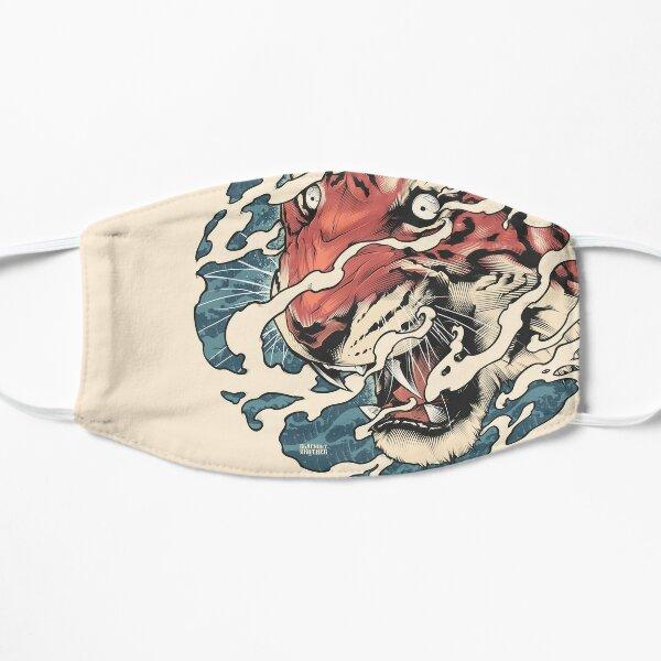 Tora - Japanese tiger tattoo art Flat Mask