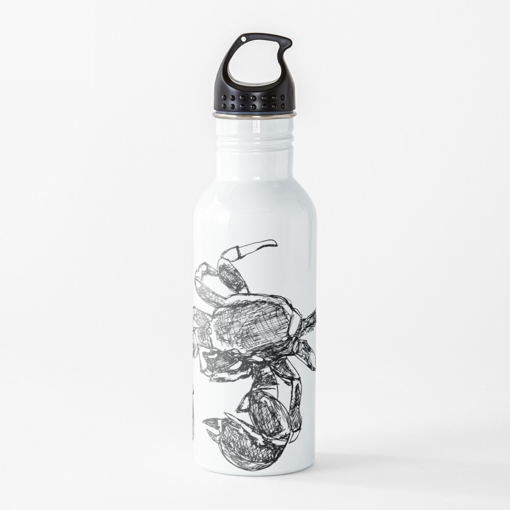 Maria the Crab Water Bottle