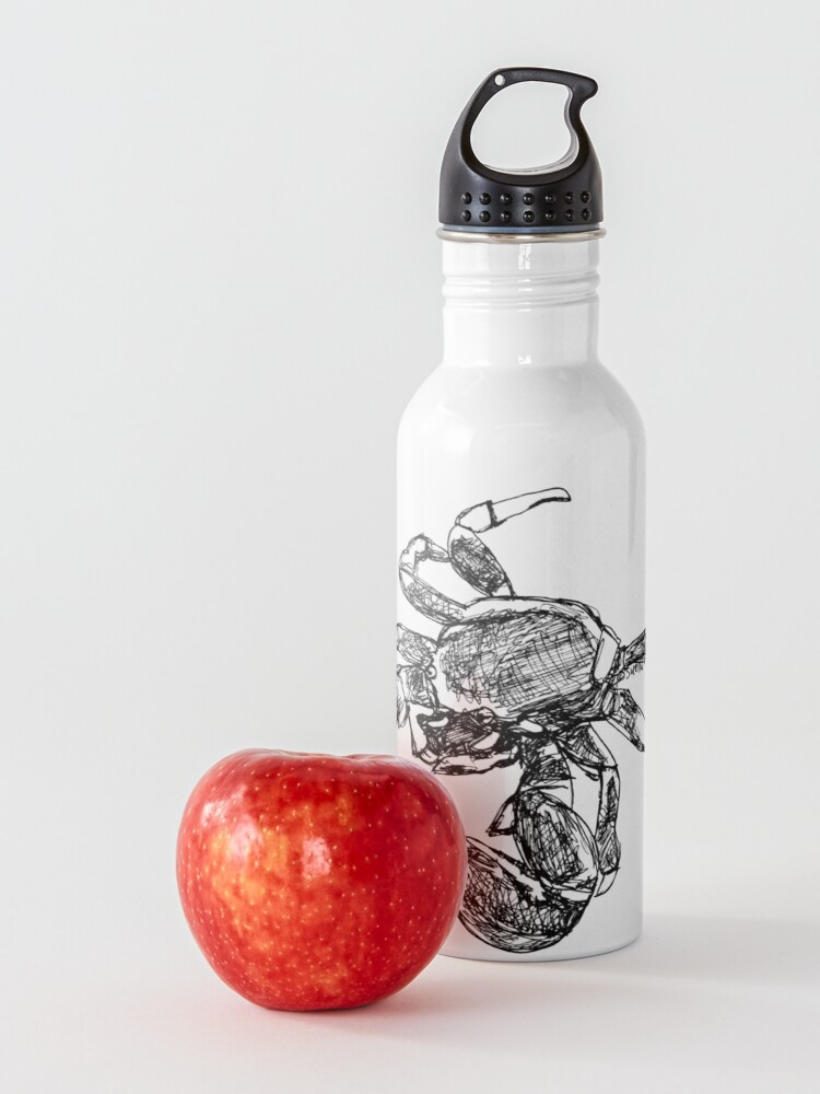 Alternate view of Maria the Crab Water Bottle