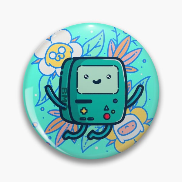 Adventure Time - Super Cute BMO! Pin