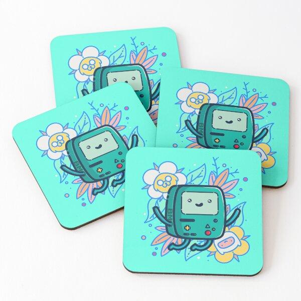 Adventure Time - Super Cute BMO! Coasters (Set of 4)