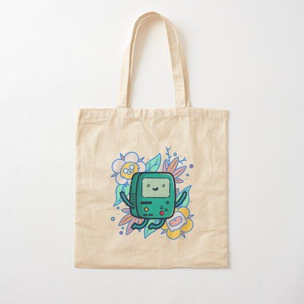 Adventure Time - Super Cute BMO! Cotton Tote Bag