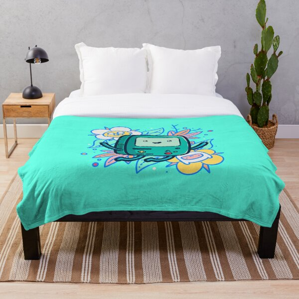 Adventure Time - Super Cute BMO! Throw Blanket