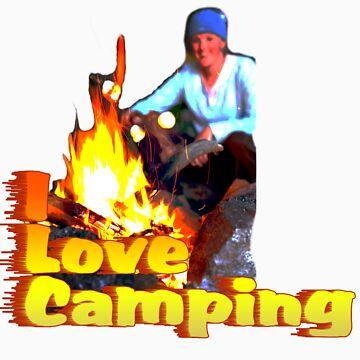 I Love Camping by noeljerke