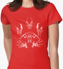 Alien Rhapsody- Aliens Shirt Womens Fitted T-Shirt