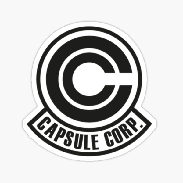Capsule Corp Corporation Logo Sticker