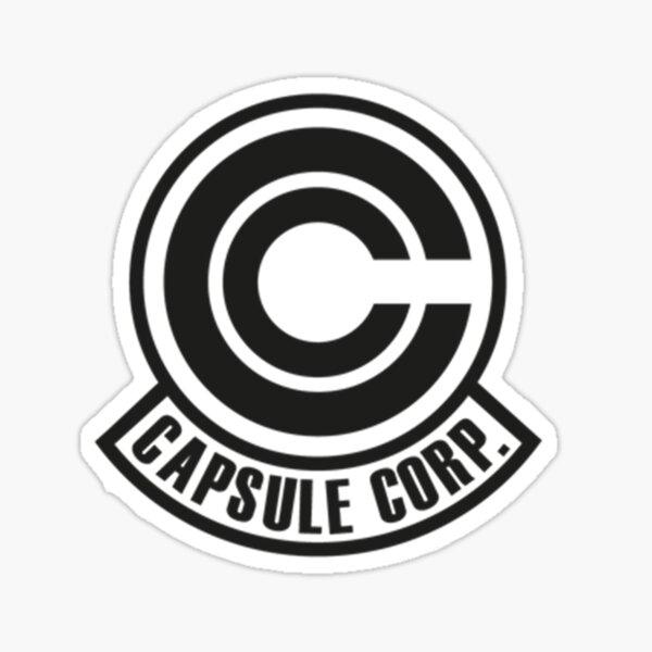 Capsule Corp Corporation Logo Pegatina