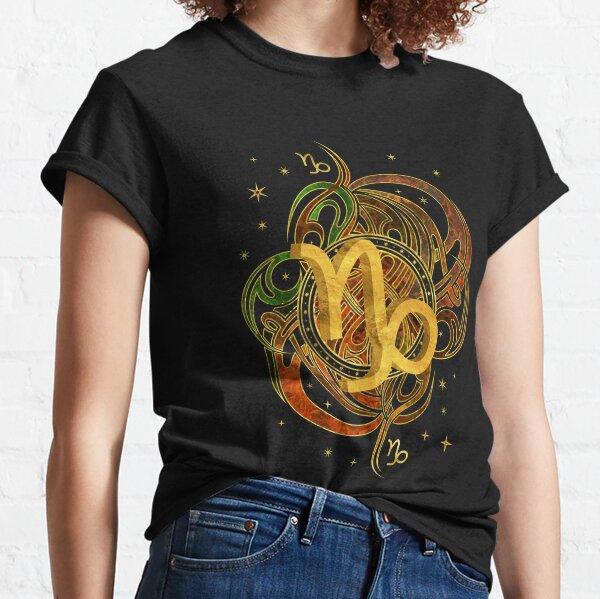 Capricorn Zodiac Sign Earth element Classic T-Shirt