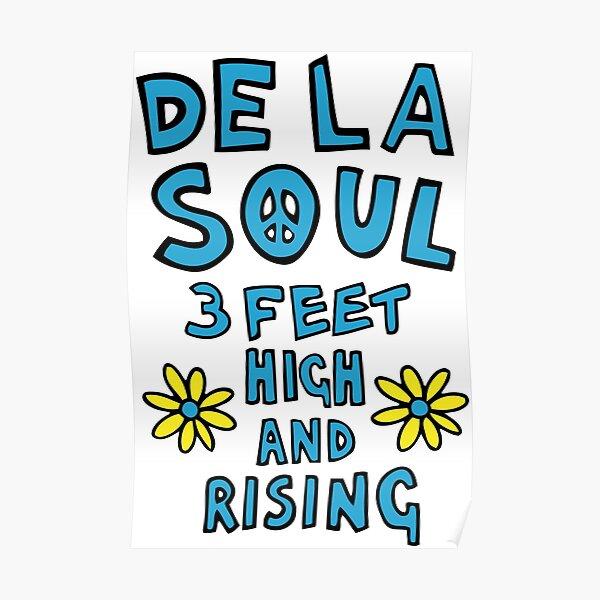 De La Soul 3 Feet High and Rising Poster