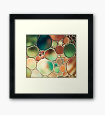 PASTEL ABSTRACTION Framed Print