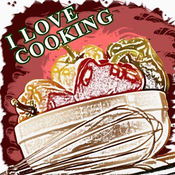 I Love Cooking by noeljerke