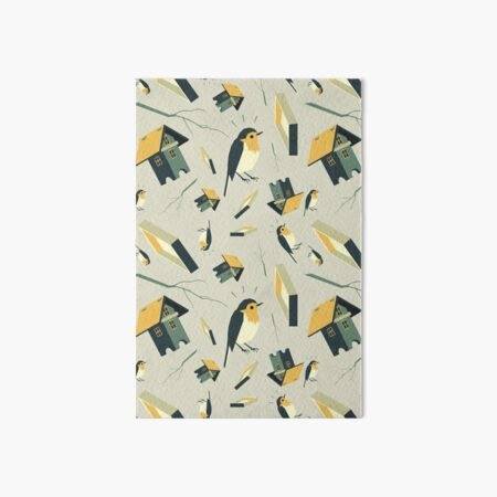 Flying Birdhouse (Pattern) Galeriedruck
