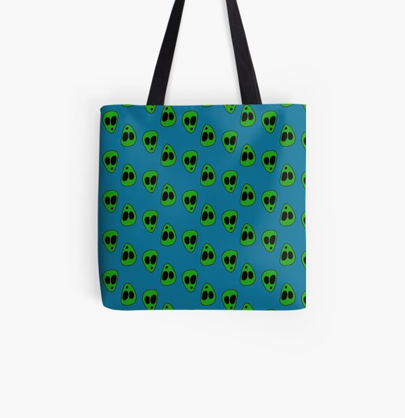 ALIENS!!! All Over Print Tote Bag