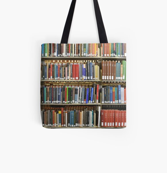 Library  All Over Print Tote Bag