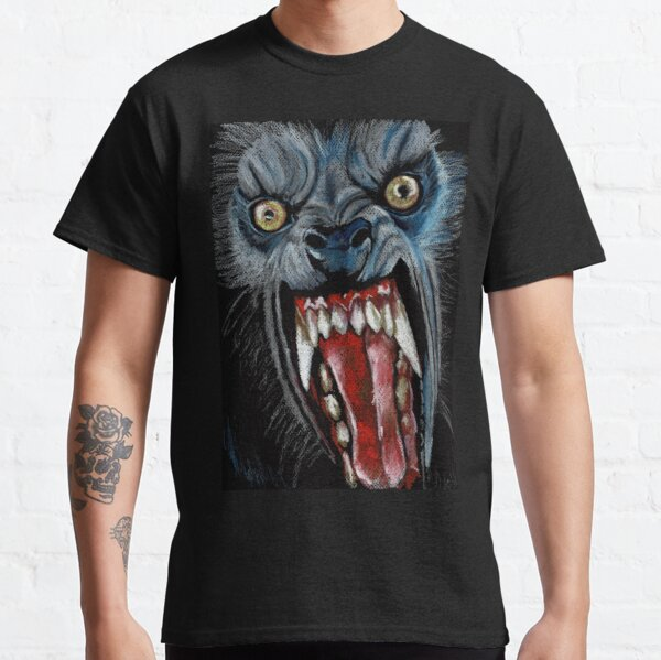 W is for Werewolf Classic T-Shirt