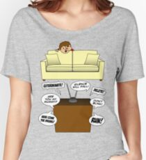 Behind The Sofa! Women's Relaxed Fit T-Shirt