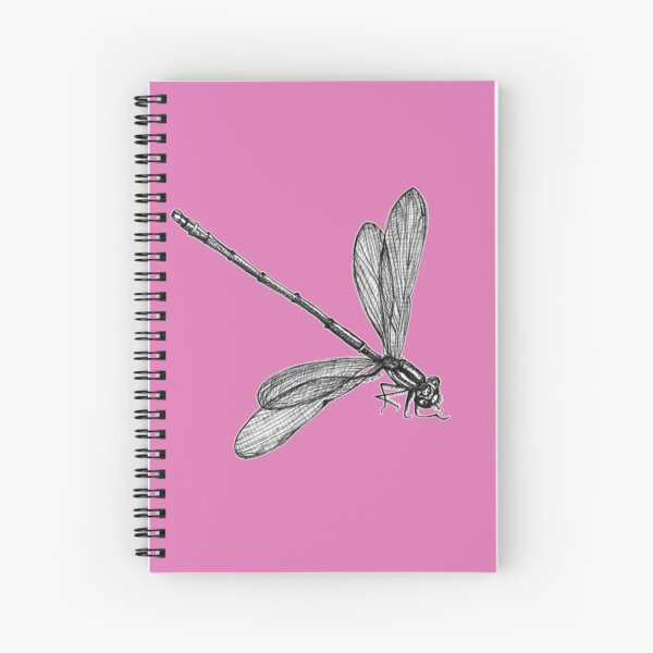 Eve the Dragonfly  Spiral Notebook