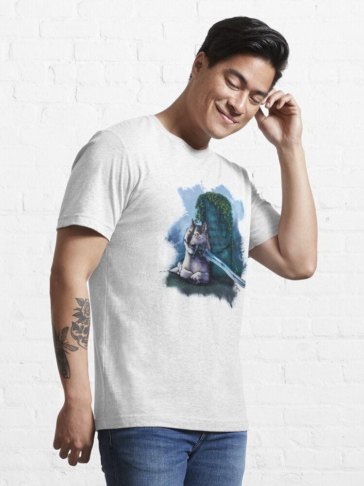 Alternate view of Great Grey Doge Sif Essential T-Shirt