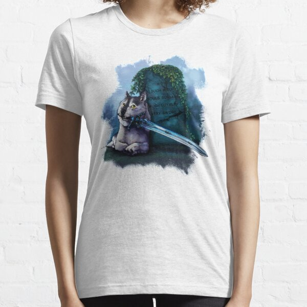 Great Grey Doge Sif Essential T-Shirt