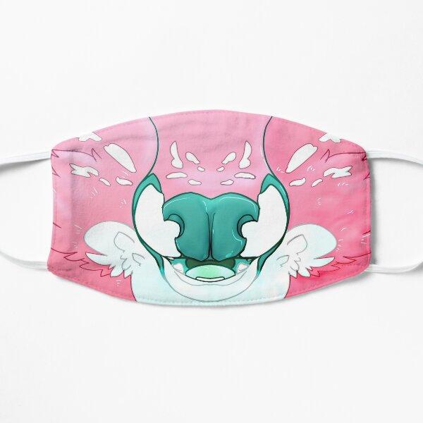 Fluffy Deer Face Mask (Pink) Flat Mask