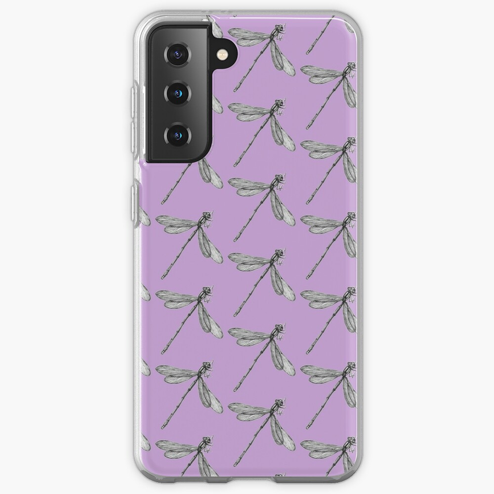 Eve the Dragonfly on the way up Case & Skin for Samsung Galaxy