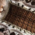 Hexham Abbey Nave Timber Beams by John Dalkin