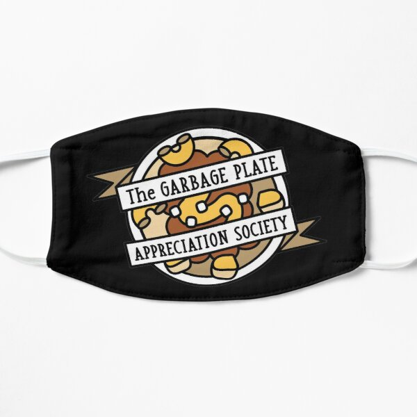 Plate Appreciation Society Flat Mask