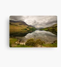 Reflective Buttermere Canvas Print