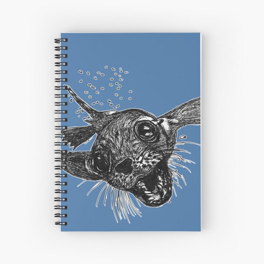 Dom the Australian Fur Seal  Spiral Notebook