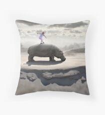 Hippodance Throw Pillow