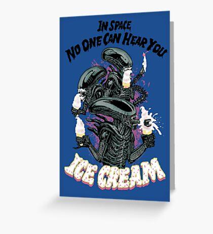 Hear You Ice Cream Greeting Card