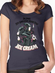 Hear You Ice Cream Women's Fitted Scoop T-Shirt