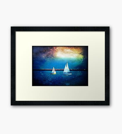 Another Dimension © Framed Print