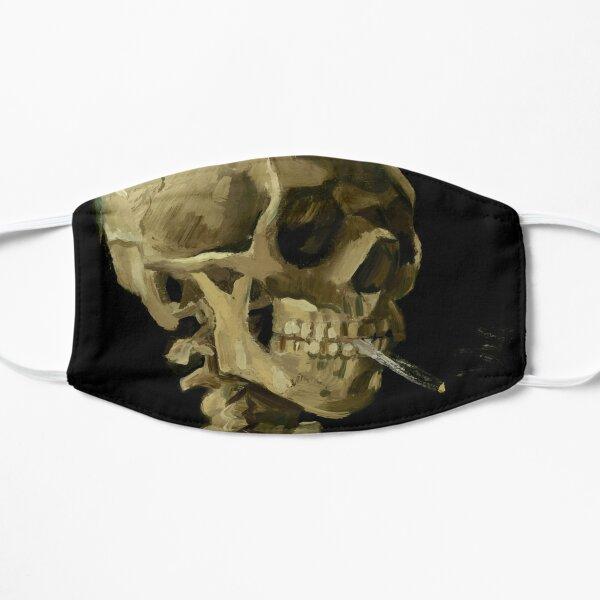 Vincent van Gogh - Skull of a skeleton with Burning Cigarette Flat Mask