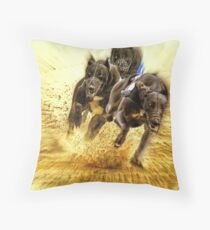 Who let the dogs out ? Throw Pillow