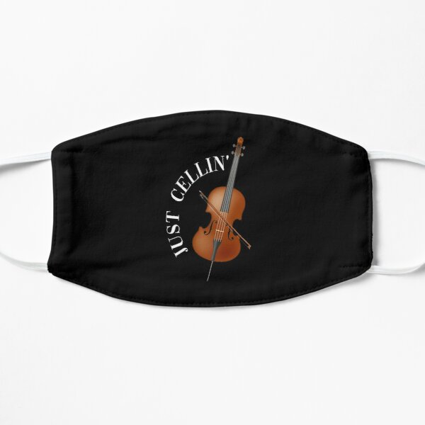 Musical instrument cello Flat Mask