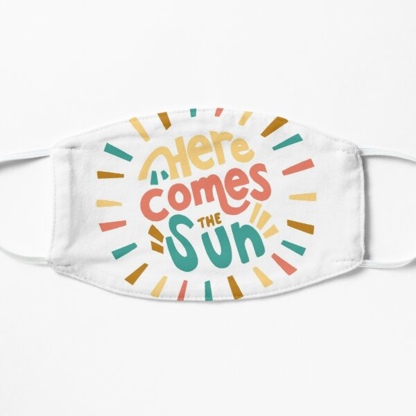 Here Comes the Sun Flat Mask
