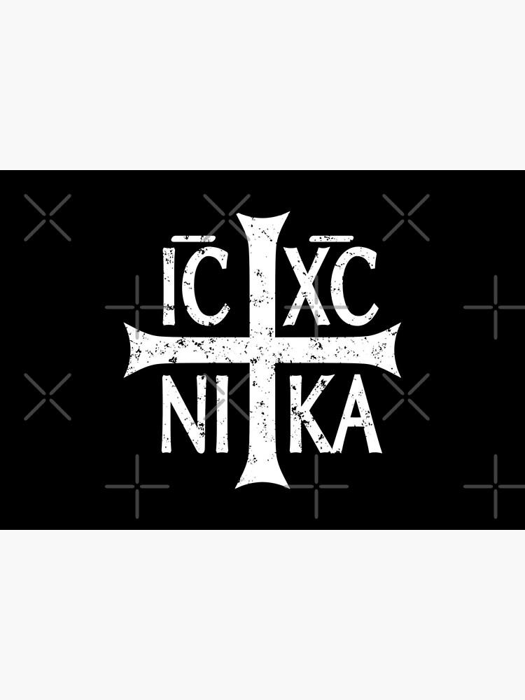 Christogram IC XC NIKA Jesus Christ is winner by Beltschazar