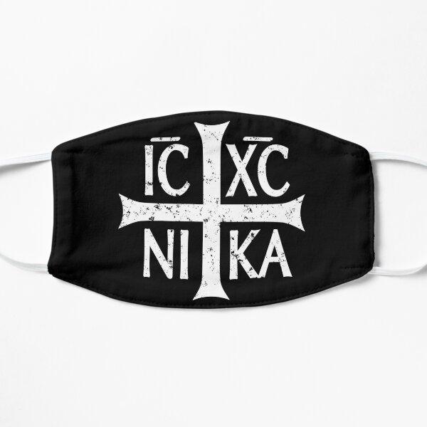 Christogram IC XC NIKA Jesus Christ est gagnant Masque sans plis