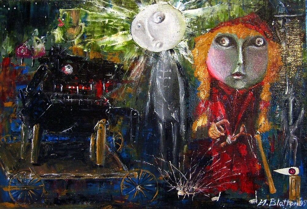 Little Red Riding Hood - Reactivation by Monica Blatton