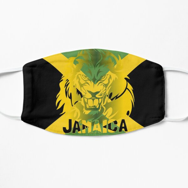 Jamaica Lion of Judah Design Mask