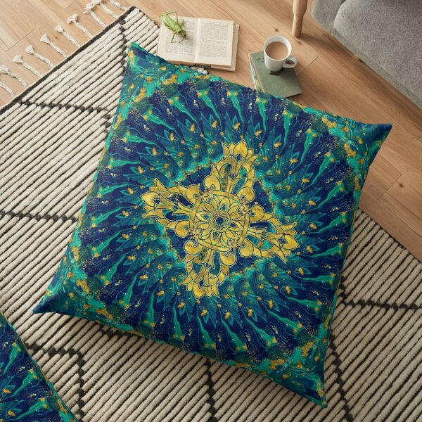 Double Dorje - Vishvavajra  -Vajra Floor Pillow