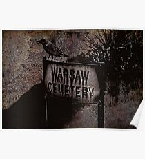 Warsaw Cemetery Poster