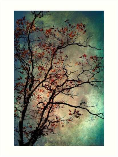 Textured Tree by Christina Rollo
