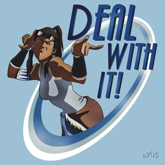 TShirtGifter presents: Deal With It! (Color)