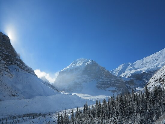 Plain of 6 Glaciers, Lake Louise by Jason Cahill