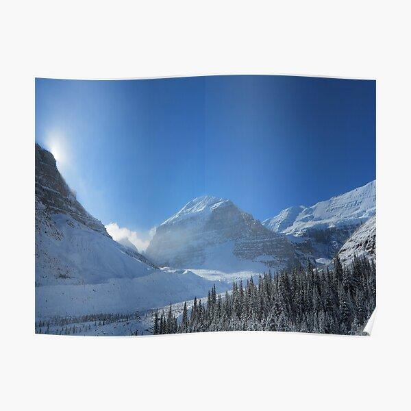 Plain of 6 Glaciers, Lake Louise Poster