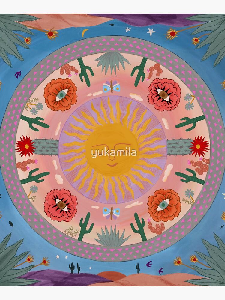 Desert Mandala by yukamila