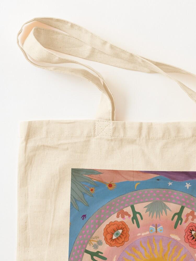 Alternate view of Desert Mandala Tote Bag