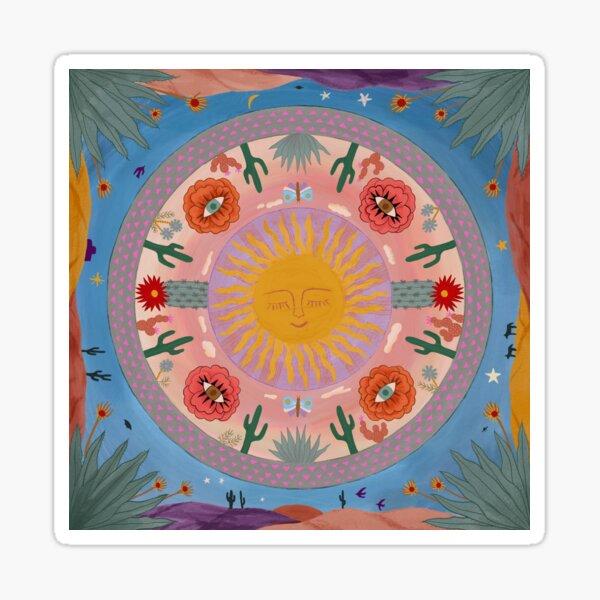 Desert Mandala Sticker